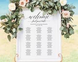 Etsy Wedding Seating Chart Wedding Seating Chart Sign Seating Chart Printable Seating Chart Template Seating Board Seating Plan Pdf Instant Download Bpb310_52