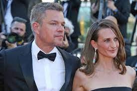 Matt Damon: Bei Filmpremiere in Cannes ...