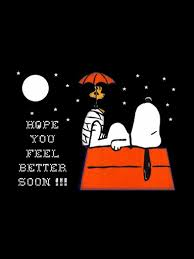 Hope You Feel Better Soon Snoopy And Woodstock Future Ideas