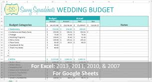 sample spreadsheet excel wedding budget template 728x1365 savvy spreadsheets