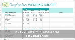 Sample Wedding Budget Spreadsheet Wedding Budget Template 728x1365 Savvy Spreadsheets
