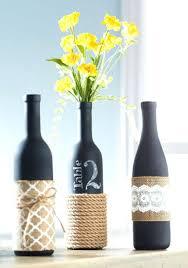 wine bottle decorations diy entry 24 diy wine bottle centerpieces