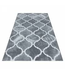 modern designe carpet glitter rug toscana 3160 grey