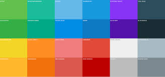 Design Color Froala Flat Design Colors Flat Design Colors Web Design