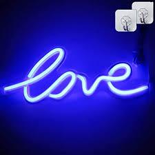 XIYUNTE Love Neon <b>Light Led Neon Sign</b> Pink Love Light Signs ...