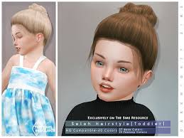 the sims resource toddler hair cc