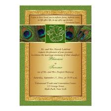 246 best indian wedding invitations images on pinterest indian Indian Wedding Invitations Green Street hindu ganesh green, gold peacock wedding invite indian wedding invitationspeacock indian wedding cards green street