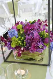 Purple and green reception wedding flowers, wedding decor, wedding flower  centerpiece, wedding flower arrangement, add pic source on comment and we  will ...