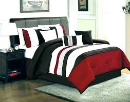 Winsome Red And Black Bedroom Set Ideas High Gloss Furniture Home ...
