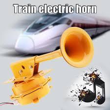 <b>12V</b> / <b>24V</b> Durable 320HZ <b>126DB Super</b> Loud All Metal Train Horn ...