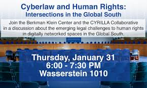 Cyber Law Cyberlaw And Human Rights Berkman Klein Center