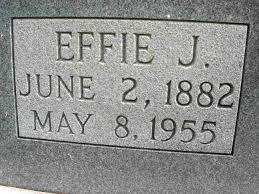 Effie J Morgan Oliver (1882-1955) - Find A Grave Memorial