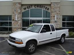 2001 Summit White Chevrolet S10 LS Extended Cab 4x4 #11667546 ...