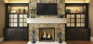 tv fireplace wall living design ideas with traditional built in cabinet feature