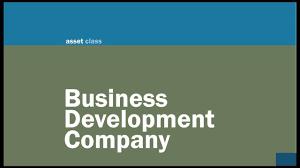 Business Development Company Franklin Square Capital Partners Business Development Company Youtube