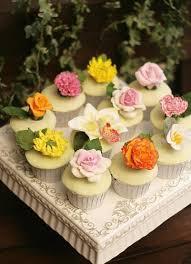Spring Wedding Flower Cupcakes 2071051 Weddbook