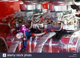 1957 Chevy Pickup Truck 350 Chevy Engine Stock Photo, Royalty Free ...