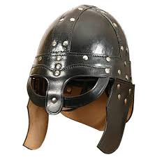 com quality meval viking barbarian leather helmet spectacles cosplays game of throne home kitchen