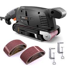 By signing up, you agree to receive emails from milwaukee with news and other information. Tacklife 3 18 Inch Belt Sander With 13pcs Sanding Belt Bench Sander With Screw Clamps Vacuum Adapters Psfs1a Pricepulse