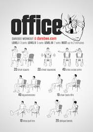 even if work piles up in the office you don t have to completely shove aside taking care of your fitness this quick workout from darebee can