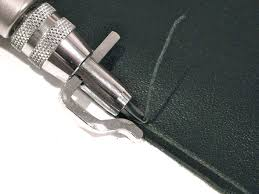 seiwa adjustable leathercraft pro stitching groover set to sew crease leather