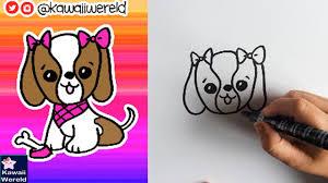 Deze tekening is bedoeld om na. Schattige Tekeningen Hondje Coloring And Drawing