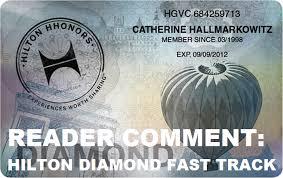reader comment hilton diamond