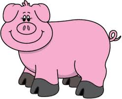 Image result for pig clipart