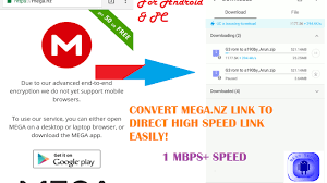Trick To Download Mega Links Directly Via Uc Browser Or Idm Or Adm