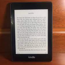 Máy Nhật Cũ] Máy Đọc Sách Kindle Paperwhite Gen 2 6th Code 80755