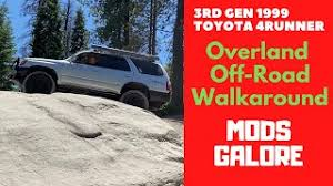 Find local deals from 4 million car listings in one search. My Toyota 4runner Walkaround My Overland Off Road Build 2020 Youtube
