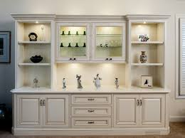 Painted and Glazed Display Cabinet Traditional Living Room