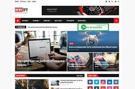 Blogger Templates 2020 Newsify V1 0 News Magazine Blogger Template 2020 Free