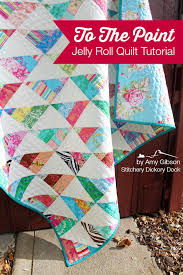 To The Point: A Quick n' Easy Jelly Quilt Tutorial &  Adamdwight.com