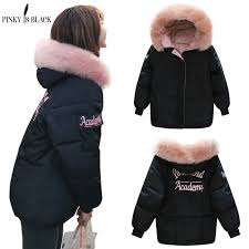 <b>PinkyIsblack</b> Winter <b>Jacket</b> Women 2018 New Fashion Slim Female ...