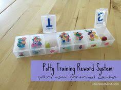 training rewards modified diaper box wrapped in gift wrap to keep potty training