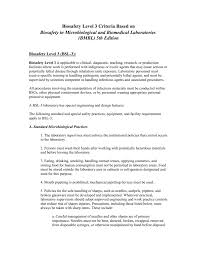 Bsl Labs Design Biosafety In Microbiological And Biomedical Laboratories