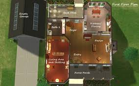 Sims Floor Plans   VAlineSims Houses Floor Plans