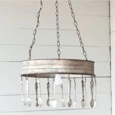 spoon chandelier vintage spoon chandelier fork and spoon chandelier arhaus