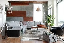 contemporary with corrugated metal wall groundswell design group