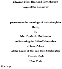 11 Invitations Acceptances And Regrets Post Emily 1922 Etiquette