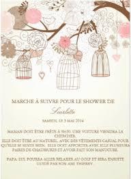 baby shower bébé cie invitation