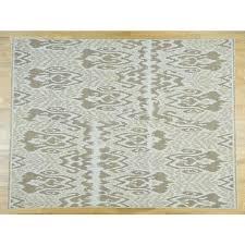 9 x11 8 hand woven ikat design flat weave soumak oriental rug