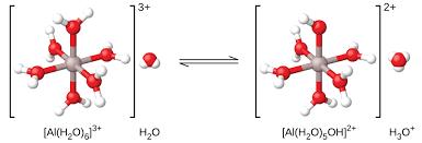 Image result for Al(OH2)6 3+