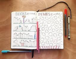 bullet journal book trackers for bibliophiles to log their favorite book lists zen of planning