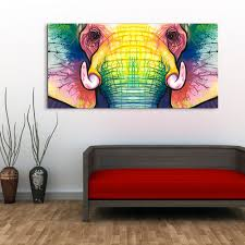 Modern Art Paintings For Living Room Aliexpresscom Buy Large Single Abstract Modern African Animal