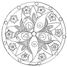 Mandala Coloring Pages Printable Mandala Coloring Pages Turtle