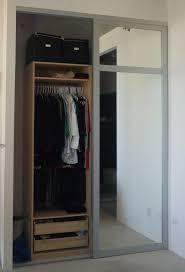 of a bigger mirrored closet doors