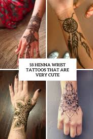 Henna Wrist Designs 18 Henna Wrist Tattoos That Are Very Cute Styleoholic