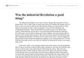 industrial revolution essays the scientific and industrial revolution essay good